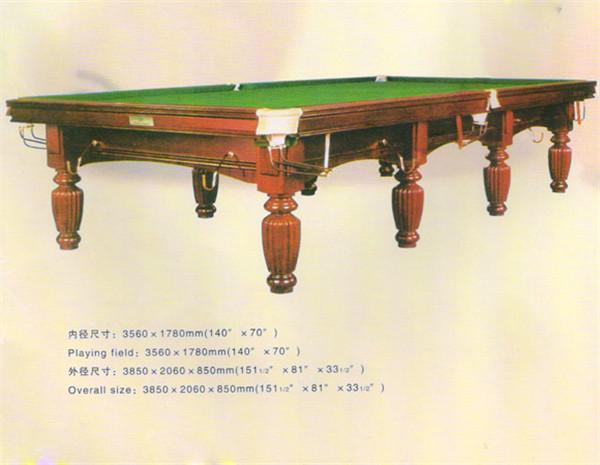 英式台球桌